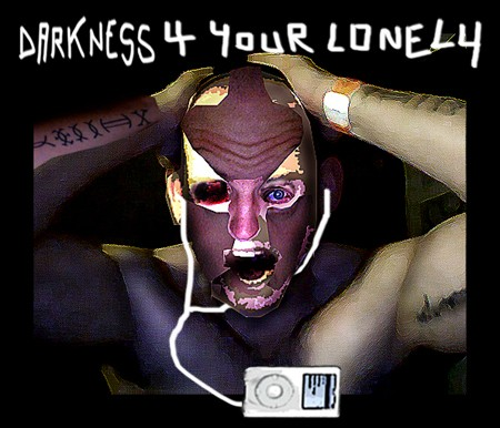 darkness for your lonely ipod by japi