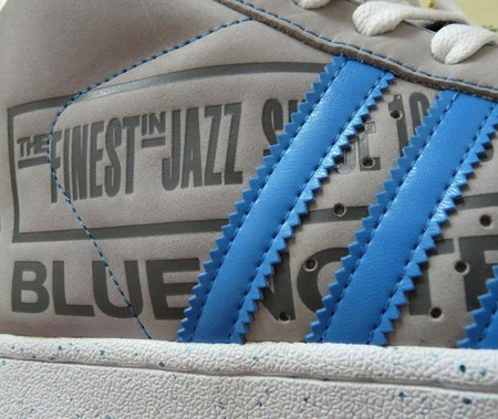 funky blue note sneakers by professor eddy